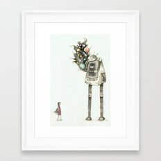 You asked me for space Framed Art Print