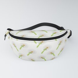 Summer meadow digital pattern Dandelion Fanny Pack