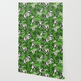 Tropical leaf VI Wallpaper
