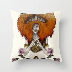 L  E  O [in colour] Throw Pillow