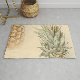 Pineapples On A Vintage Mood #decor #society6 #buyart Rug