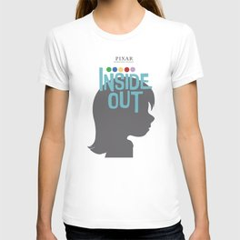 Inside Out - Minimal Movie Poster T-shirt