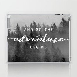 And So The Adventure Begins III Laptop & iPad Skin