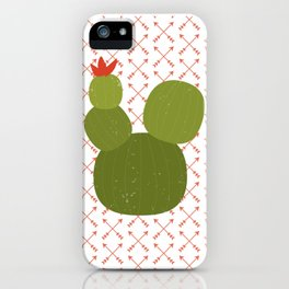 The Little Green Cactus iPhone Case