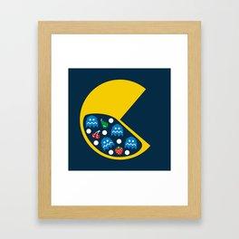 8-Bit Breakfast Framed Art Print