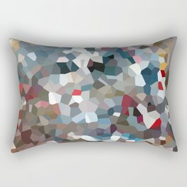 Happy New Year Moon Love Rectangular Pillow