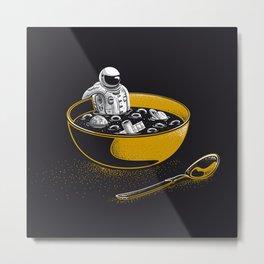 Space Flakes Metal Print