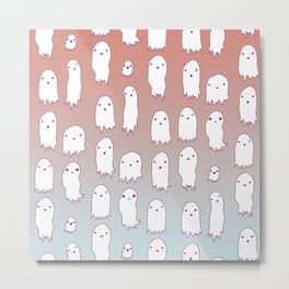 Lil Ghosties Metal Print