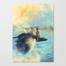 Riders of Berk Canvas Print