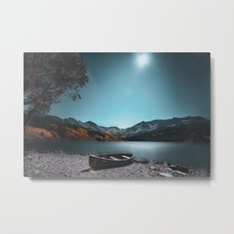 Cold Serenity Metal Print