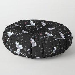 Lemurs Floor Pillow