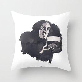 Abby Normal Throw Pillow