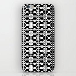 BW-pattern 3 iPhone Skin