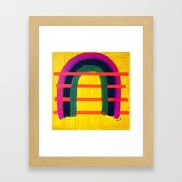 Heart Space Framed Art Print