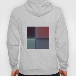 Abstract Blurred Block Pattern Design Hoody