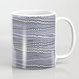 Electrified Ripples Lavender Coffee Mug