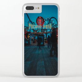 Pacific Park Clear iPhone Case