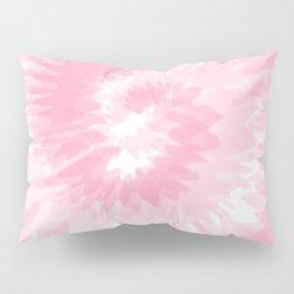 Pastel Pink Tie Dye  Pillow Sham