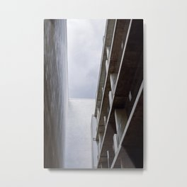 Looking at the bright side Metal Print