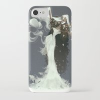 witch iPhone & iPod Cases featuring Witch by Julia Lullaby