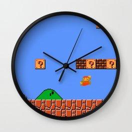 Dr. Mario? No...Doctor Who? Wall Clock