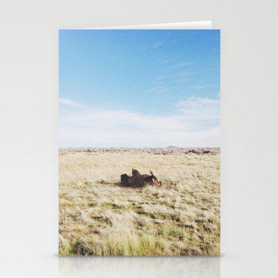 ROFL Bison Stationery Cards
