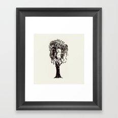 ♥ The Holly Tree ♥ Framed Art Print