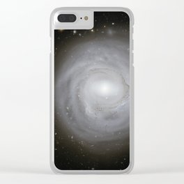 Spiral Galaxy NGC 4921 Clear iPhone Case