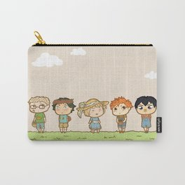 Spring! Karasuno 1st Years Carry-All Pouch