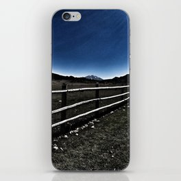 Darkness Visible - Mt. Sopris - Glenwood Springs, CO iPhone Skin
