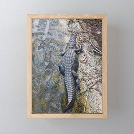 Lurking Framed Mini Art Print