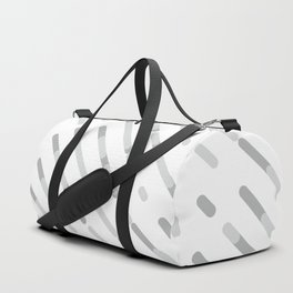 Gray Abstract geometric background #society6 #decor #buyart #artprint Duffle Bag