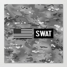 SWAT: Urban Camouflage Canvas Print