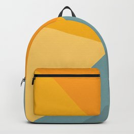 Abstract Mountain Sunrise Backpack
