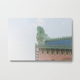 Chicago Library Metal Print