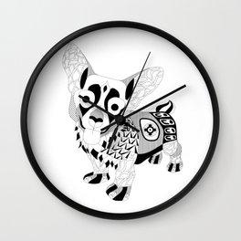 Mr. Corgi dog Wall Clock
