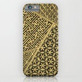 Japanese Patterns iPhone Case
