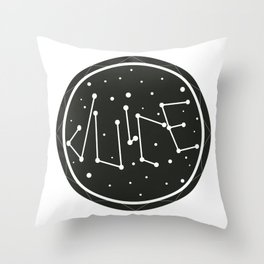 Juice Galaxy Throw Pillow