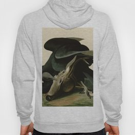 106 Black Vulture or Carrion Crow Hoody