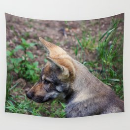 Canis Lupus Lupus II Wall Tapestry