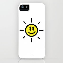 Dollar Sunshine iPhone Case
