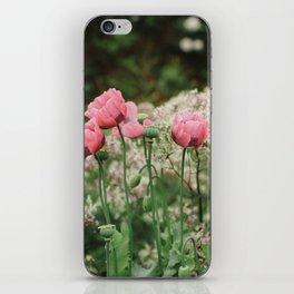 Summer Poppies iPhone Skin