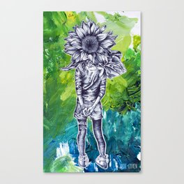 The Wallflower Canvas Print