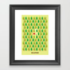 Escapism Framed Art Print