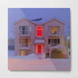 Dollhouse Metal Print