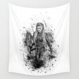 Ink Lagertha Wall Tapestry