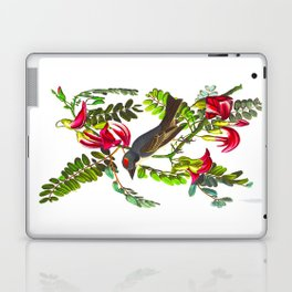 Piping Flycatcher Bird Laptop & iPad Skin