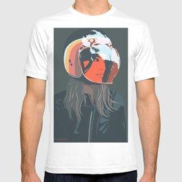 orange (from a photo by Sebastien Zanella) T-shirt