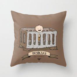 Besiktas, Istanbul Throw Pillow