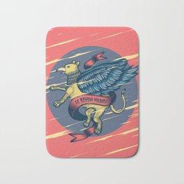 Go Beyond Yourself - Griffon Bath Mat